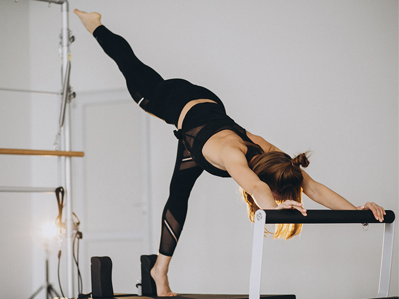 Flexibilidad de ejercicios de pilates en barcelona